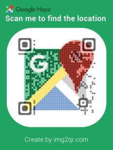 Google map location Dynamic QR Code Generator Example